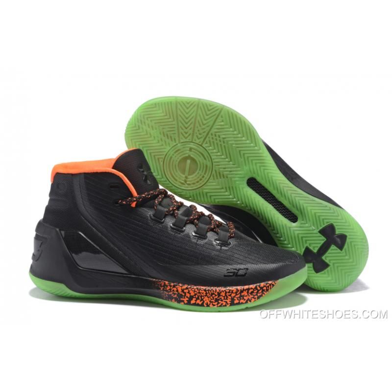 "d7555f765247 Outlet Under Armour Curry 3 ""Lights Out"" Halloween PE ..."