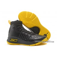 6a192262fff3 Discount Under Armour Curry 4 Black Yellow