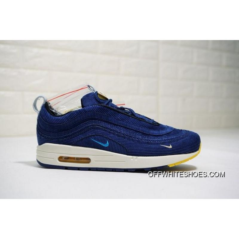 48c7767ae15f Free Shipping Women Sean Wotherspoon Nike Air Max 97 Hybrid SKU 80824-313  ...