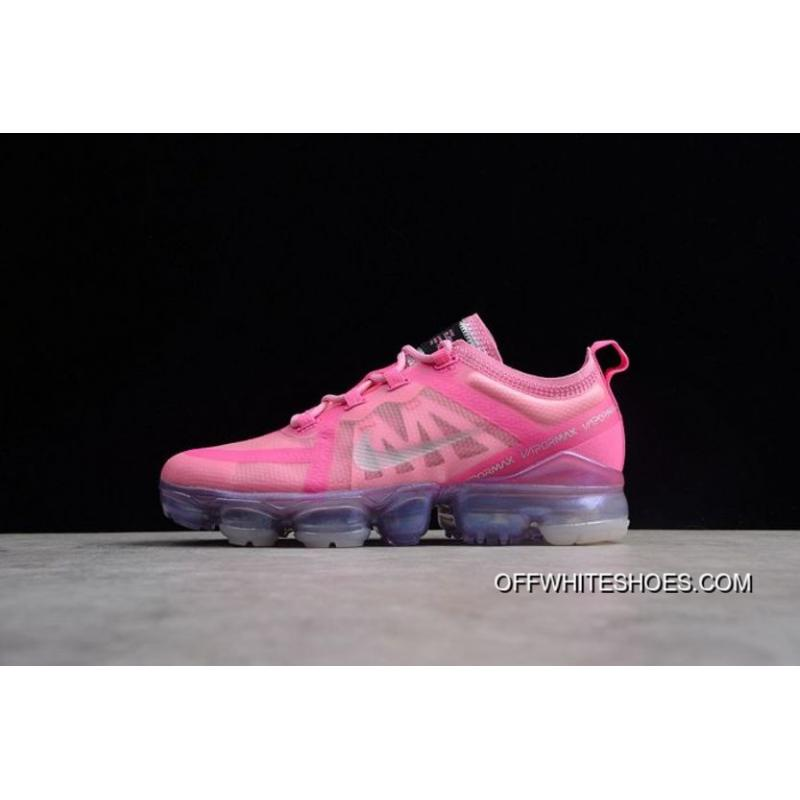 23647c92f68ef Women Nike Air VaporMax 2019 Sneakers SKU 179688-204 Best ... Nike Air  Vapormax Flyknit 2019 Women s Running Shoes White Pink AJ6900-005