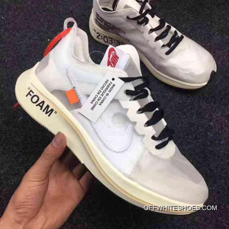 1772c3b4d0a Women Off White X Nike Zoom Fly SP Sneakers SKU 156128-206 New Year ...