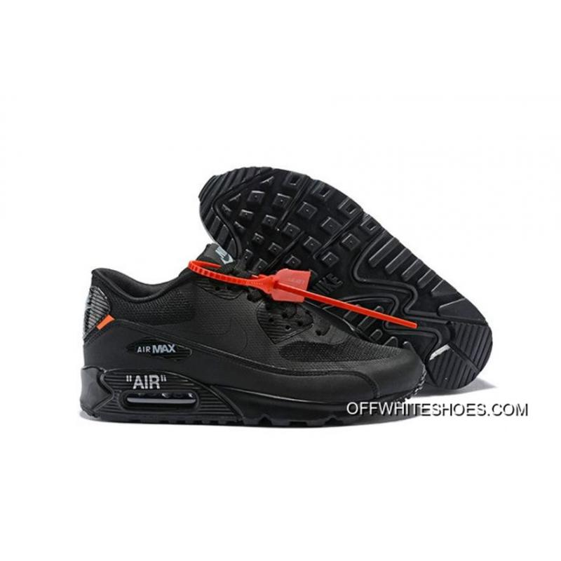 best loved d0fc4 a8320 New Style Women OFF-WHITE X Nike Air Max 90 Sneakers SKU 45504- ...
