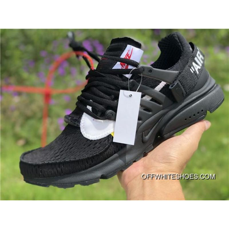 sports shoes a4db3 ab336 Women OFF-WHITE X Nike Air Presto Sneakers SKU 115025-280 Top Deals ...