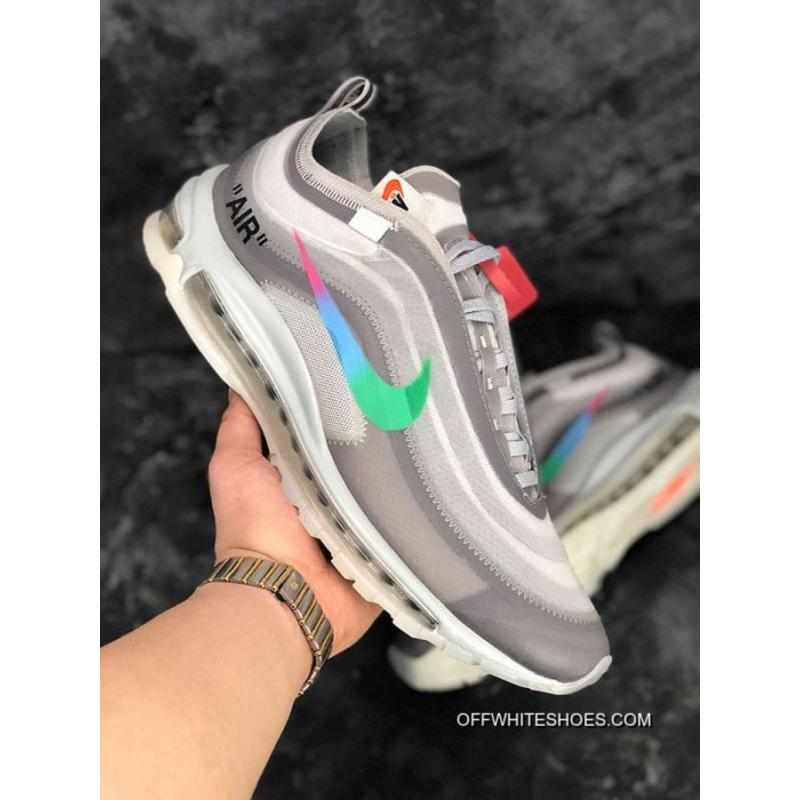 8c29423463d02 Buy Now Women OFF-WHITE X Nike Air Max 97 Sneaker SKU 1324-326 ...