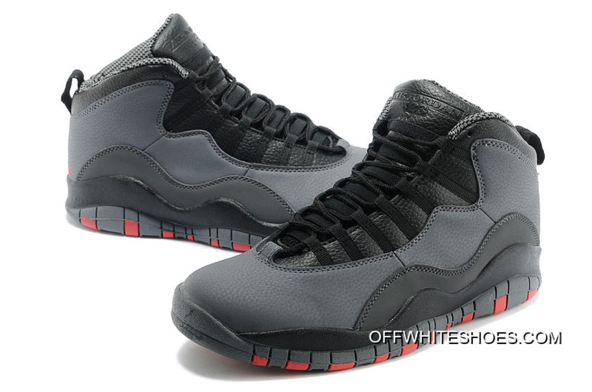 official photos 9ebf1 4644c New Style New Air Jordan 10 Retro Cool Grey Infrared-Black