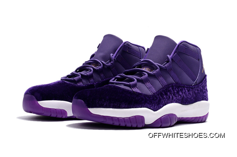 "a98a988e30fc5b Off-White Online Air Jordan 11 ""Purple Velvet"""