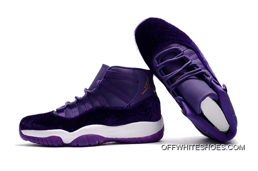 "65b75fd9738 Outlet Air Jordan 11 ""Purple Velvet"""