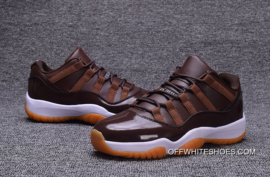 "bb330ea01d68 Online Air Jordan 11 Low ""Brown Gum"" Chocolate"