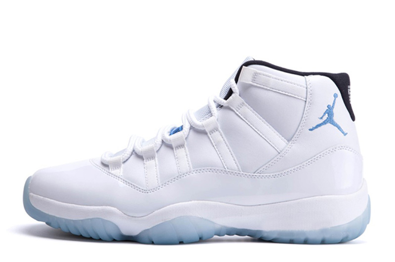 new product a7181 e1ac1 blue white jordans
