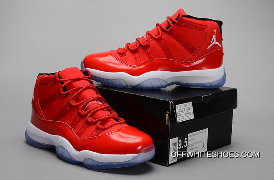 "c362d4dede8b3e New Air Jordan 11 Retro ""Red"" PE Carmelo Anthony Red White Best ..."