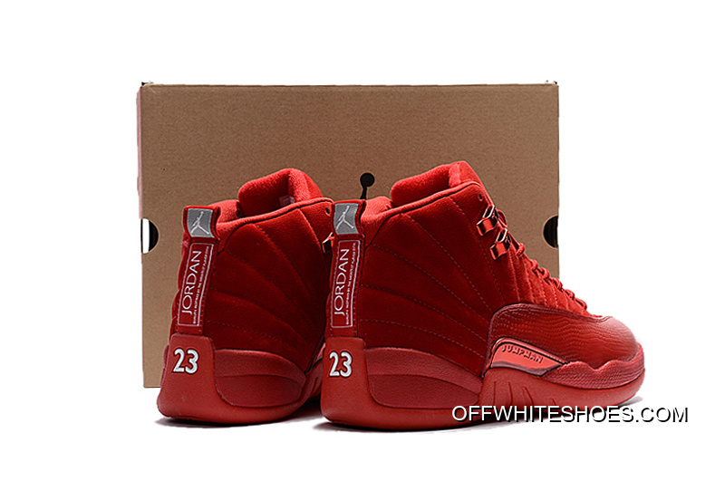 "new product d8a21 ab93c Cheap To Buy Air Jordan 12 ""Red Suede"""