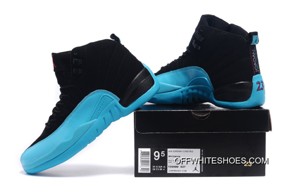 "0ce360b36a9b Air Jordan 12 Retro ""Gamma Blue"" Off-White New Release"