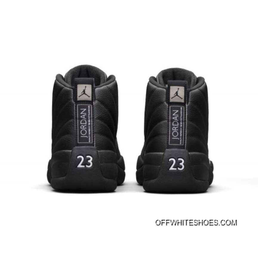 quality design 8f46d bdf5b New Release Authentic Air Jordan 12 The Master Retro 130690-013 Black Rattan -