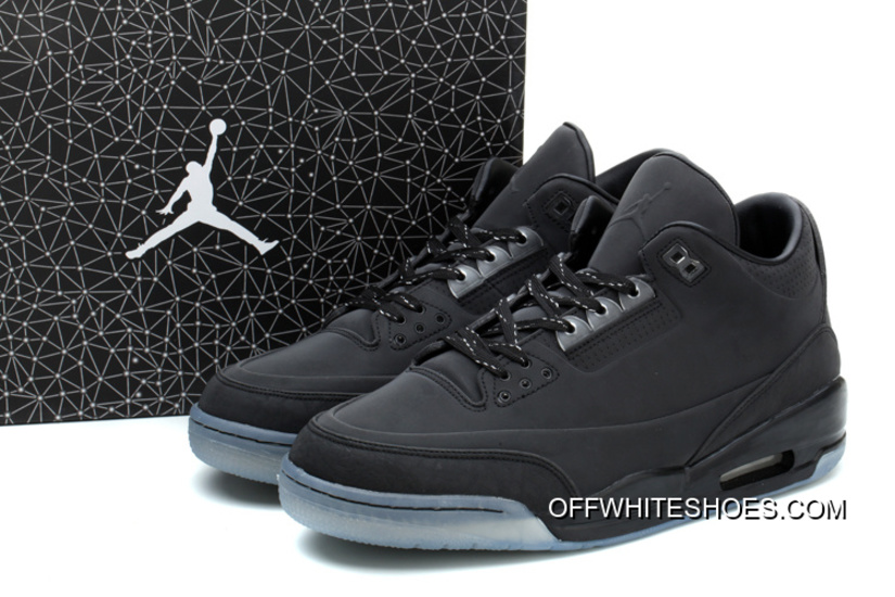 dc466469d09f Air Jordans 3 5Lab3 Black Black-Clear Latest