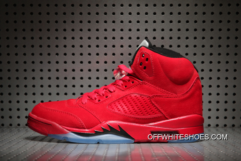 """on sale 835c9 8a4ca For Sale Air Jordan 5 """"Red Suede"""" University Red/Black"""