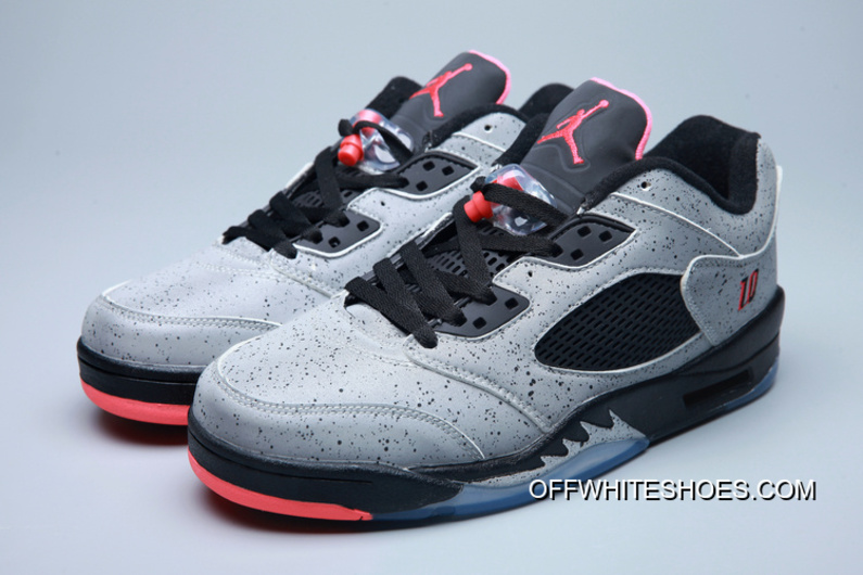 "best loved cb020 a3da0 For Sale Air Jordan 5 Low ""Neymar"" Reflect Silver Infrared 23-Black"