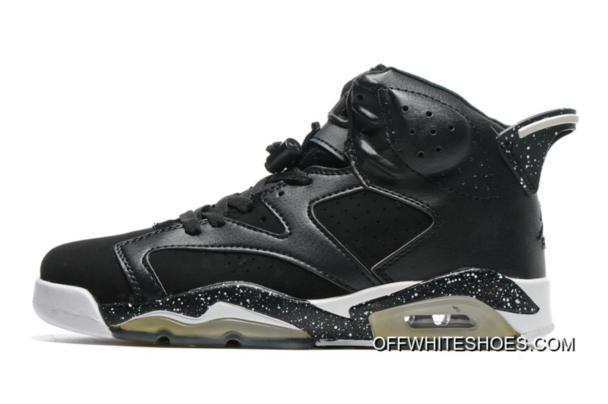 "competitive price 2fb08 86200 Latest Air Jordan 6 ""Black Oreo"""