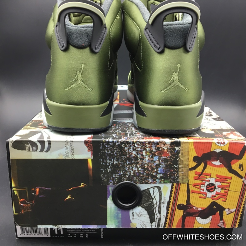 "1d7927d4a5d5e7 New Release Air Jordan 6 Pinnacle ""Saturday Night Live"" Palm Green Palm  Green"