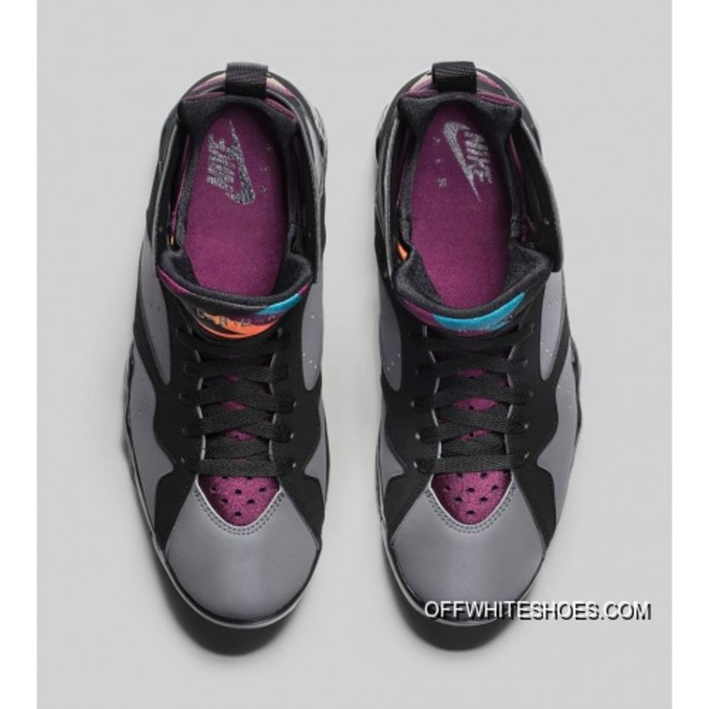 new style 56b3b 6952c Best Authentic 304775-034 Air Jordan 7 Retro Black Bordeaux-Light Graphite-