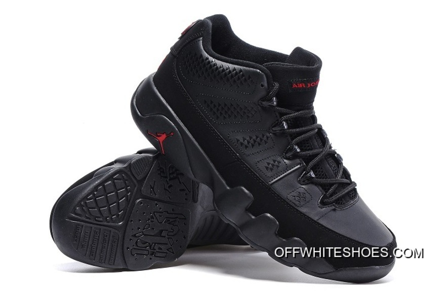 5054341aff25 Top Deals New Air Jordan 9 Low Black Varsity Red