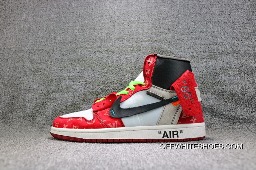cac11c71e9a608 Online OFF-WHITE Air Jordan X LV AJ 1 Three Parties To Be Limited Also