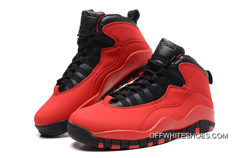 "e781ba06b40 New Air Jordan 10 Retro ""Fusion Red"" Top Deals, Price: $77.90 - OFF ..."