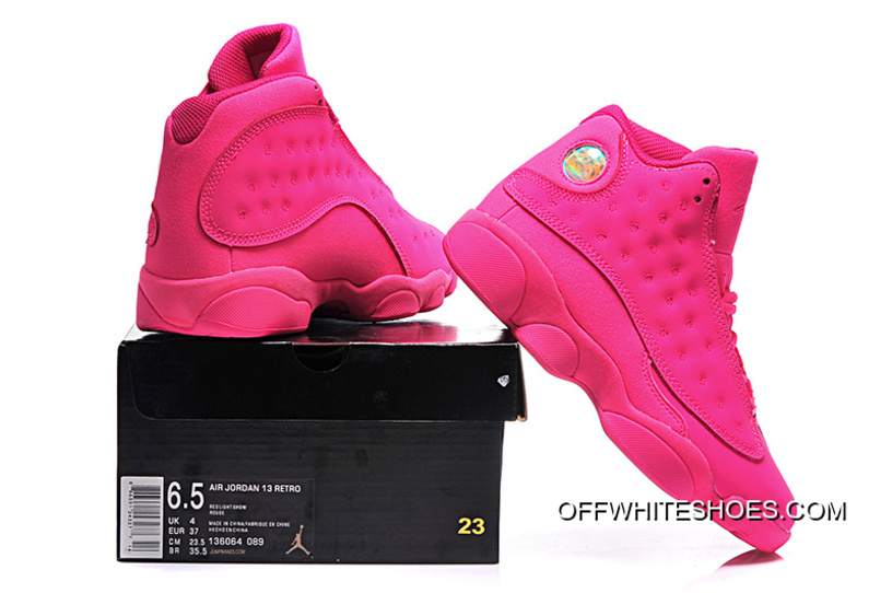 67df0bc5c0d Best Air Jordan 13 GS All-Pink Shoes, Price: $78.82 - OFF-WHITE ...