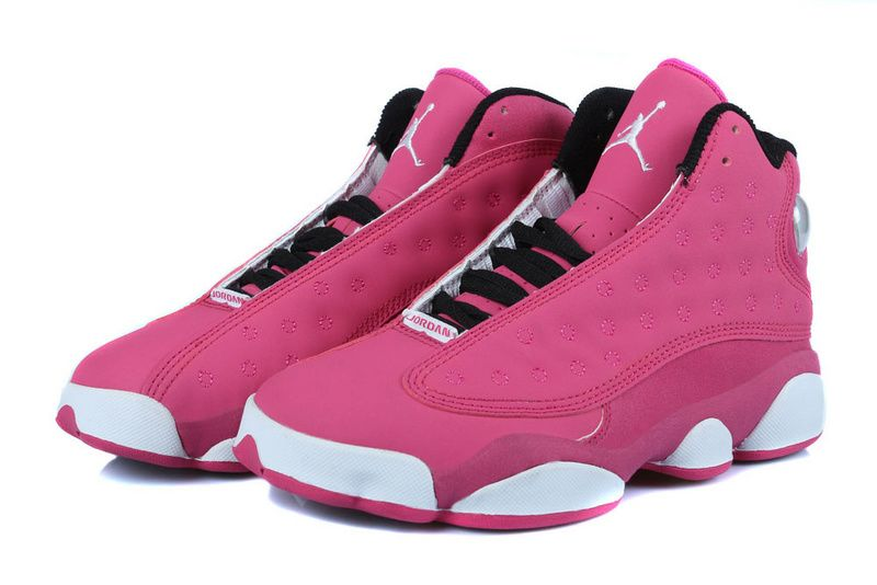best sale fashion 100% top quality New Release New Air Jordan 13 GS Fusion Pink/Black-White