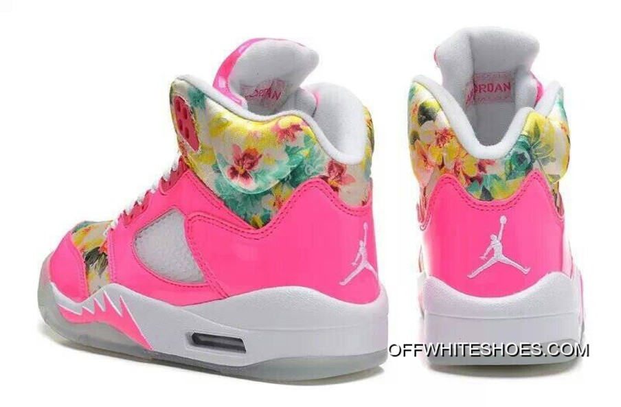 best sneakers 14560 d873a New Air Jordan 5 GS Pink Cherry Blossom New Style