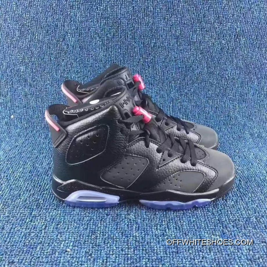 "premium selection e13a8 e4afe Air Jordan 6 GS ""Hyper Pink"" Anthracite Black-Hyper Pink Off-"