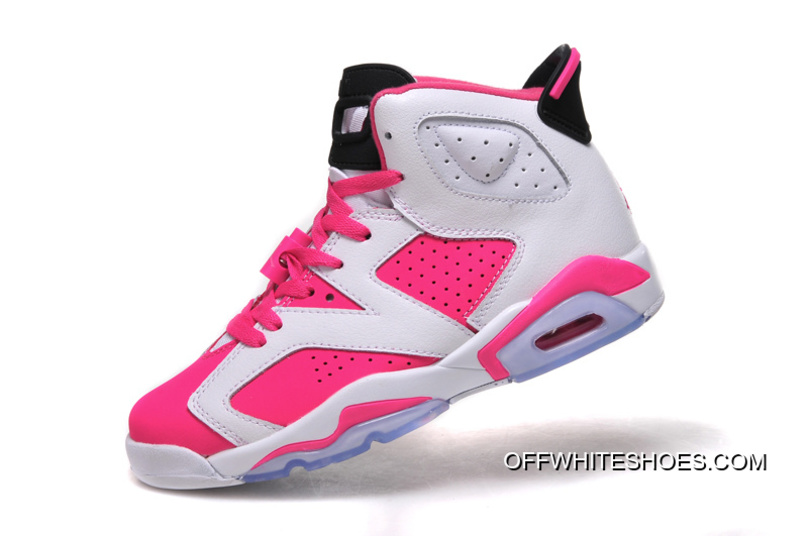 777f534a72f Air Jordan 6 GS White Pink Shoes Top Deals, Price: $87.07 - OFF ...