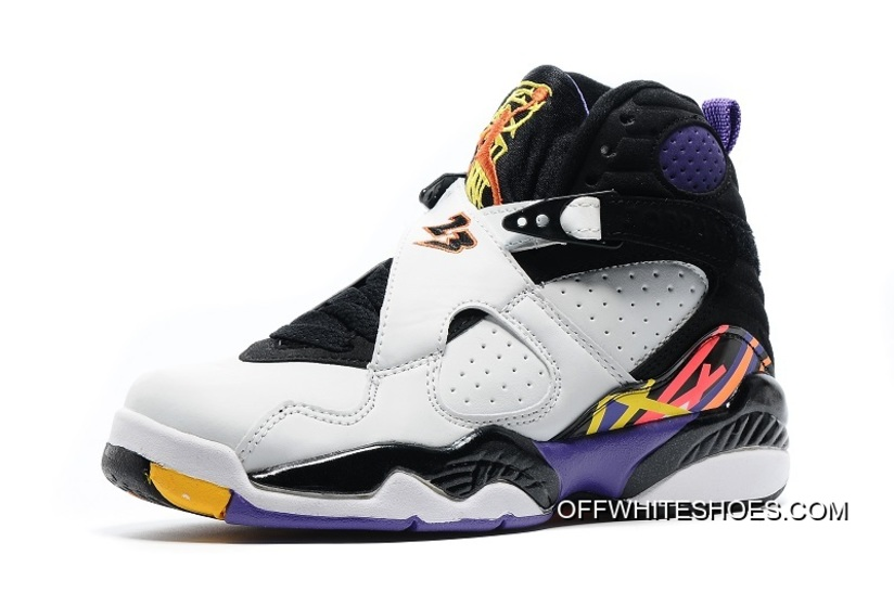 "66b93703e302 ... Off-White Top Deals Air Jordan 8 ""Three Peat"" WhiteInfrared 23 air  jordan 8 retro bg (gs) Air Jordan 8 Kobe 2016 305381-107 - Sneaker Bar  Detroit ..."