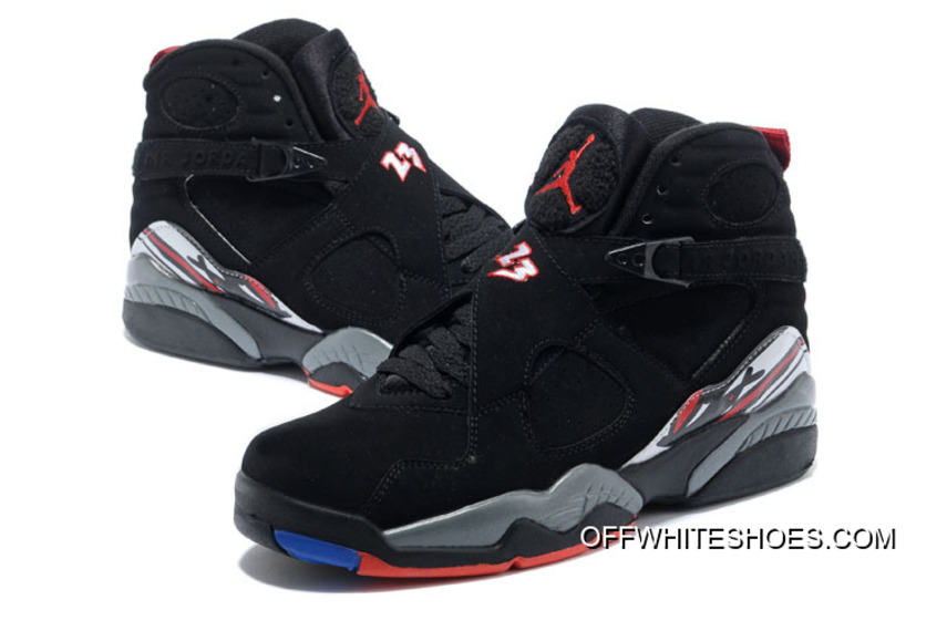 "best service 534fa 61f28 Air Jordan 8 Retro ""Playoffs"" Black True Red-White Online"