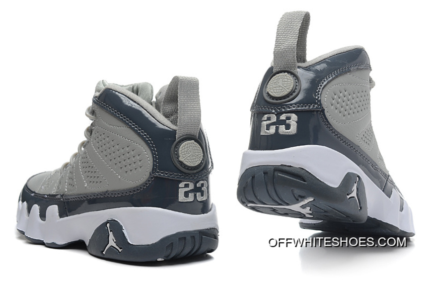 e16b0efb4b9 New Air Jordan 9 Retro Medium Grey/Cool Grey-White Online, Price ...