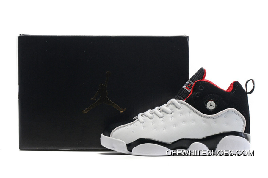 9448a5dc3b82 Super Deals New Jordan Jumpman Team 2 GS White Black-Varsity Red ...