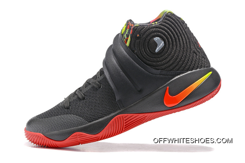 hot sale online 667a8 c7f0c ... wholesale new style girls nike kyrie 2 dream black red a3ce8 428d0