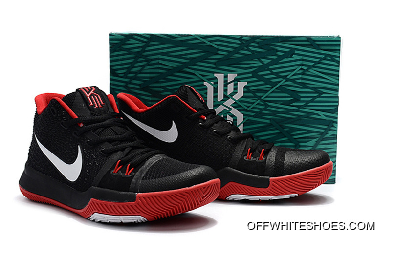 703c157f2883 Online Girls Nike Kyrie 3 Black Red White