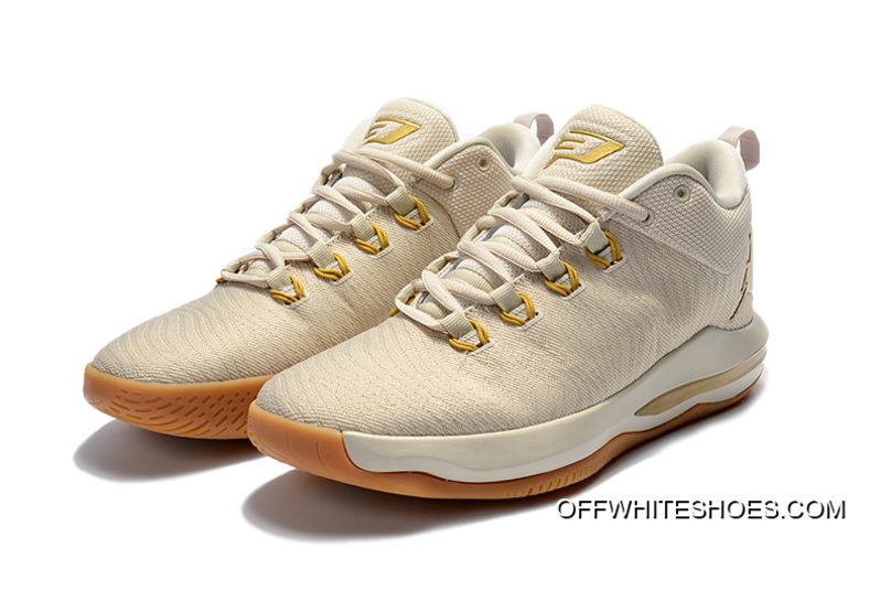 1128598e72fe0f For Sale Jordan CP3.X AE Light Orewood Brown Gum Yellow Metallic Gold