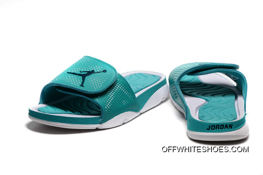 cc31c3185d6cf Top Deals Jordan Hydro 5 Retro Mint Green White