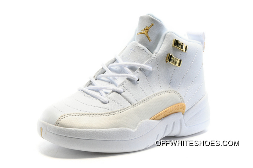"Discount Kids Air Jordan 12 ""OVO White"" 9776bda08"