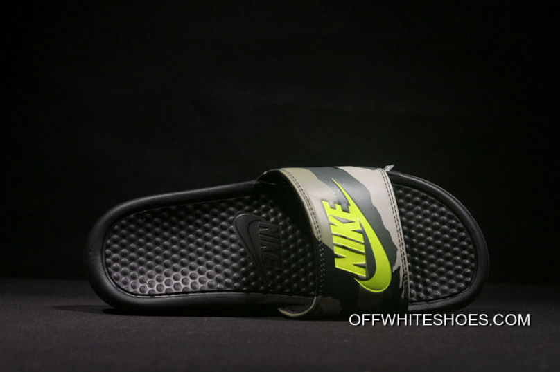 ae9dcff53 2018 Nike From Laser Marking Authentic Slides TAB Slides TAB Right An Camo  Series Green Camo