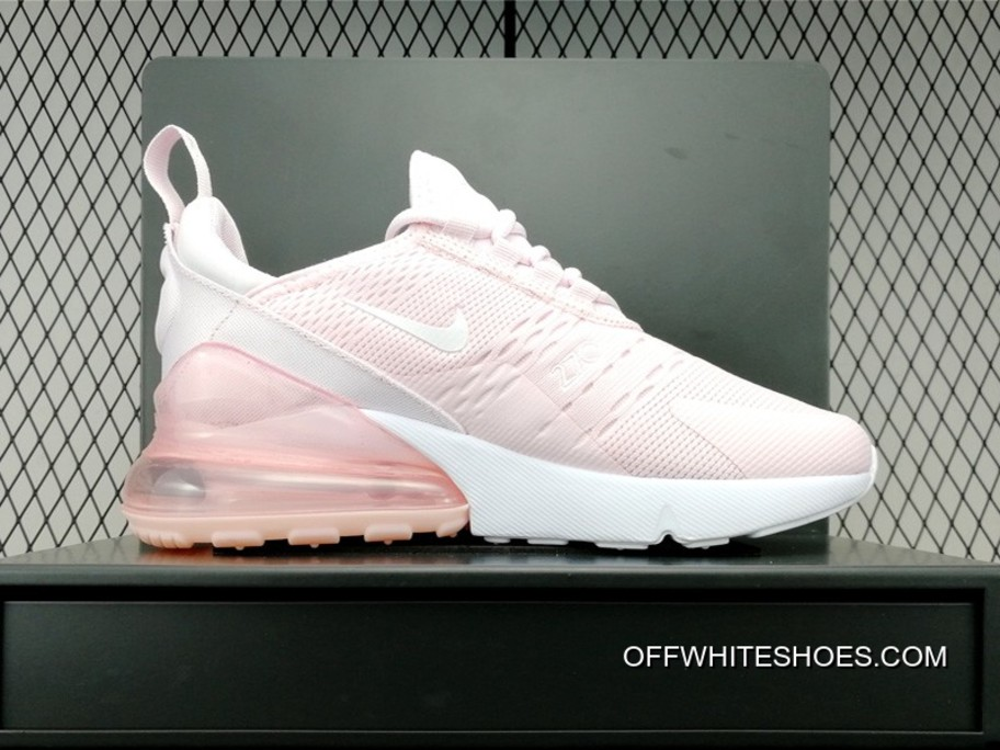 Nike Air Max 270 White Pink For Sale