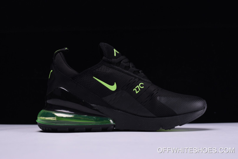 5222ae25e0 Nike Air Max 270 Black/Neon Green Outlet, Price: $87.95 - OFF-WHITE ...
