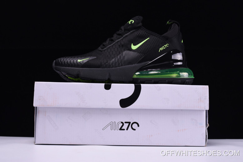 low priced 038c7 941f3 reduced nike air max 270 black neon green outlet 85e36 65531