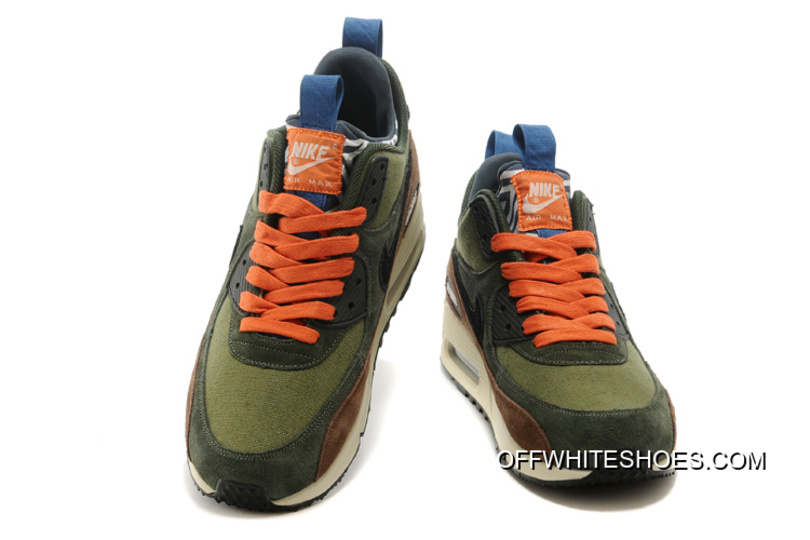 new style 38c6a 79bac ... where can i buy cheap navy green coffee orange ivory white nike air max  90 sneakerboots