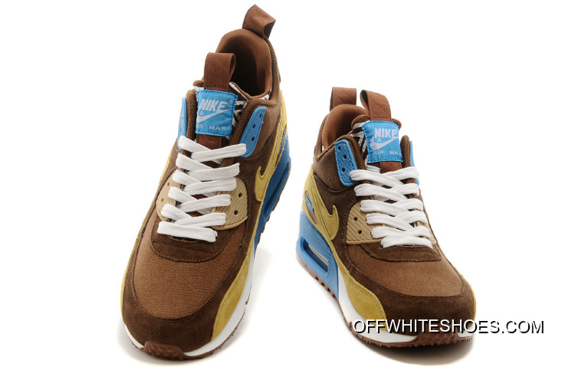 online store 5f0e8 542ad ... promo code for cheap coffee yellow white blue nike air max 90  sneakerboots prm undeafted men