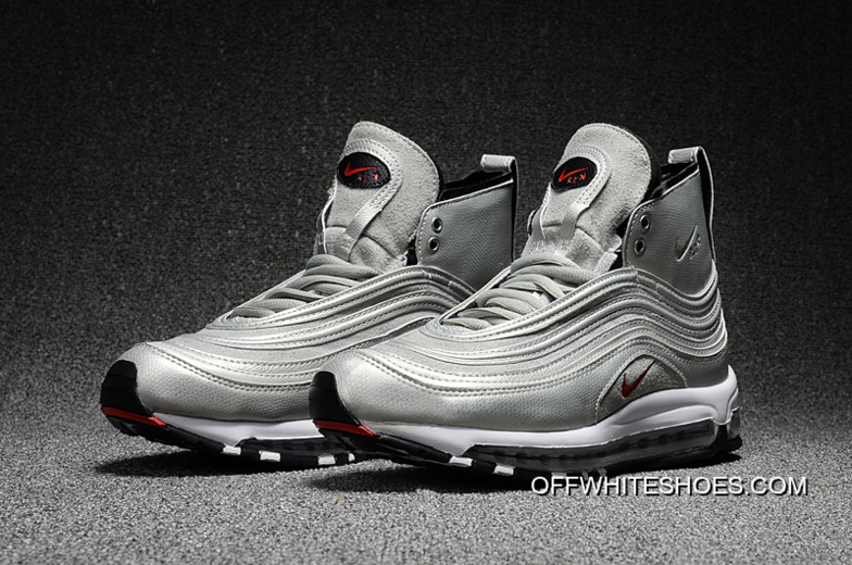 "separation shoes 7863e c7160 Riccardo Tisci X NikeLab Air Max 97 Mid ""Silver Bullet"" New Year Deals"
