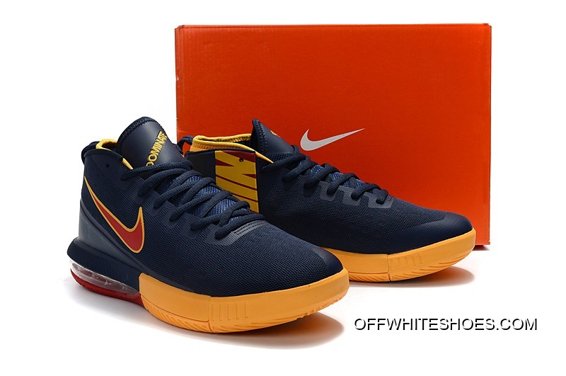 "online retailer e0e02 8e7c0 Free Shipping Nike Air Max Dominate EP ""Cavs"" Navy Blue Yellow-Burgundy"
