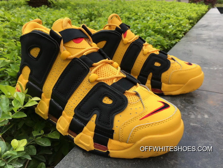 outlet store b26a7 667d3 canada new release bruce lee nike air more uptempo kill bill black yellow  68fe9 91e44