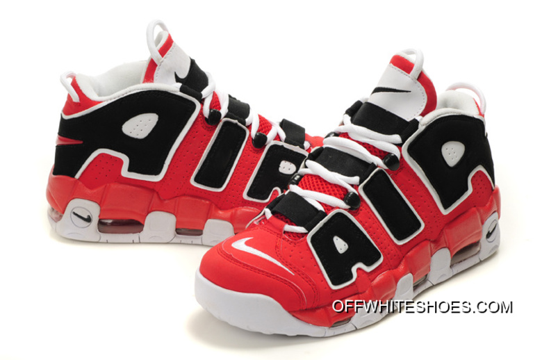 """039f865a6 Online Nike Air More Uptempo """"Asia Hoop Pack"""" Varsity Red White-Black"""